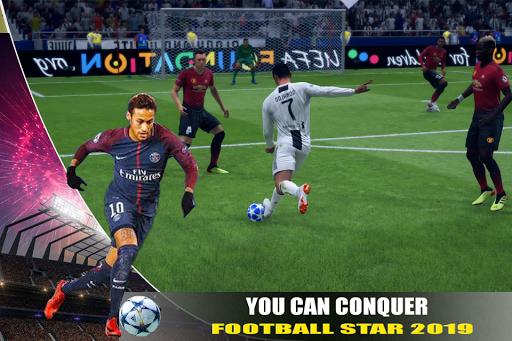 Football Star Cup 2019: Soccer Champion League  άμαξα προς μίσθωση screenshots 1