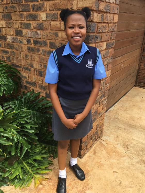 Tsakane Koko says she is considering software development as her future career.