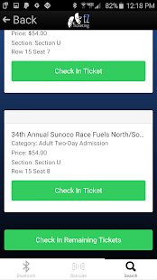 EZTicketing Admin- screenshot thumbnail