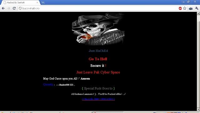 TuSiRomania.ro şi BucovinaTV.ro, sparte de hackeri