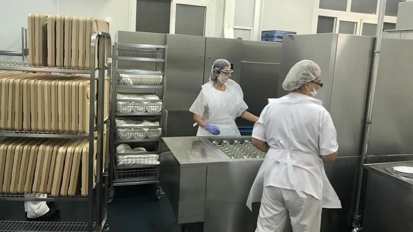 Cocina de Hospital de Torrecárdenas