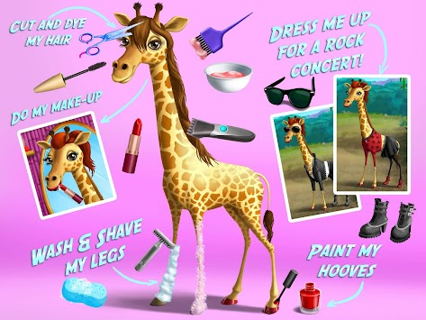 Jungle Animal Hair Salon APK screenshot thumbnail 12