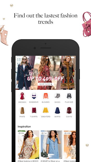 Floryday: Women Fashion Store Android App Screenshot
