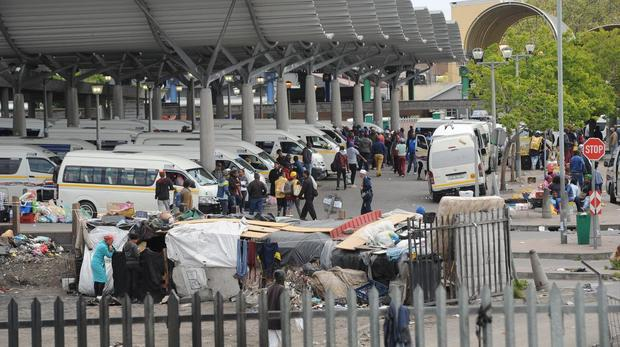 Belville taxi rank closed after two commuters caught in crossfire