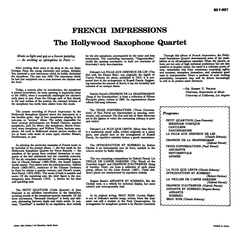 Hollywood Saxophone Quartet