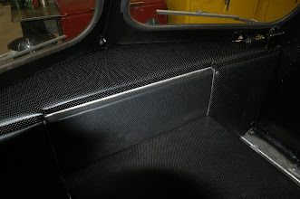 Photo: Reupholstered dash and side panels.   Upholstery services provided by Jerry at Got It Covered www.gotitcovered.ca