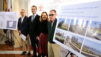 José E. Díaz, Ramón Fernández-Pacheco, Ana Martínez Labella y Jorge Nofuentes en la presentación