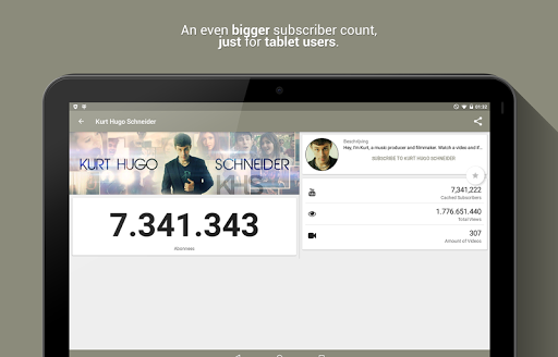 Realtime Subscriber Count 8.0.14-1535-RELEASE screenshots 8