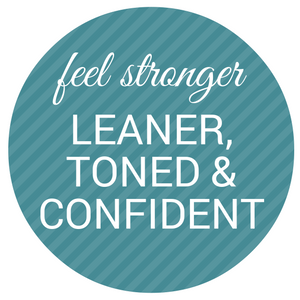 feel stronger, leaner, toned and confident with SimplyFit!
