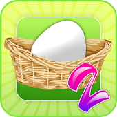 Egg Toss 2 - Easter egg