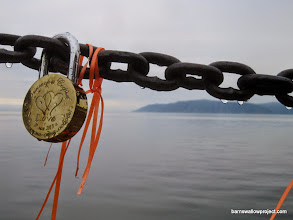 Photo: Lock of Love and the great Russian lake