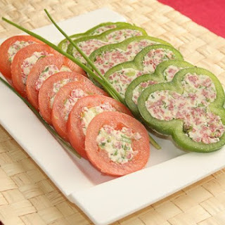 Stuffed Vegetables With Smoked Sausage