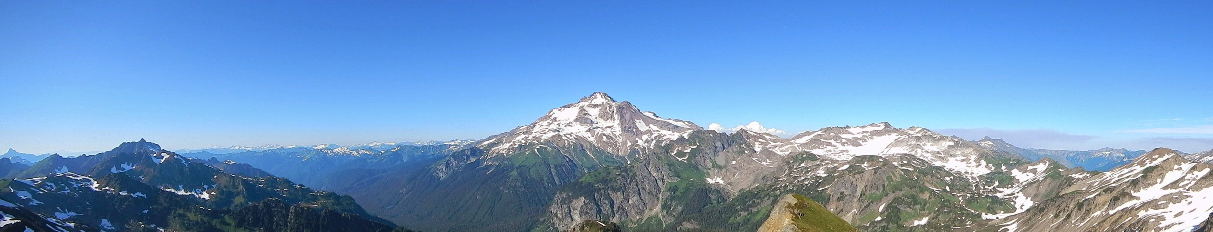Photo: Panoramic view from the top of Portal Peak