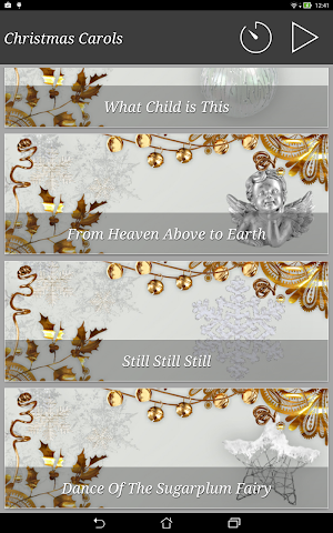 android Christmas Carols New Age Screenshot 6