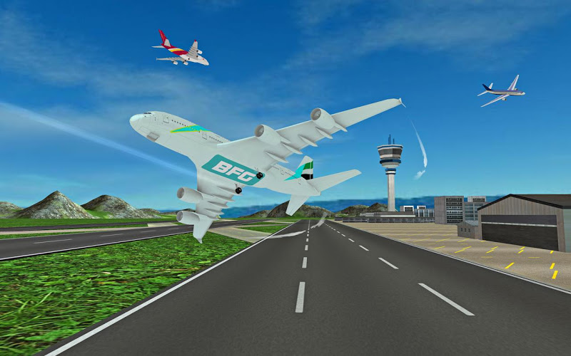Download Fly Plane Flight 3D Airplane Simulator Cheat APK MOD