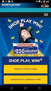 (APK) تحميل لالروبوت / PC Shop, Play, Win!® MONOPOLY تطبيقات screenshot