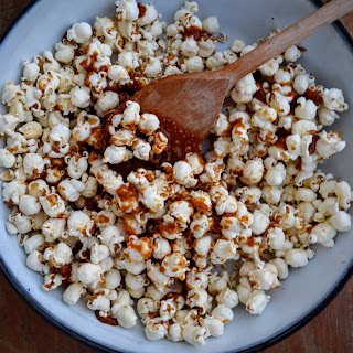 FODMAP Nut Butter Popcorn.