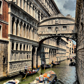 Beneath the Bridge of Sighs by Francis Xavier Camilleri - City,  Street & Park  Historic Districts (  )