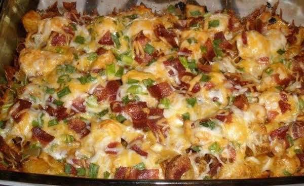 Loaded Chicken & Potato Casserole Recipe