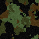 Camouflage Top Creative HD New Tabs Theme