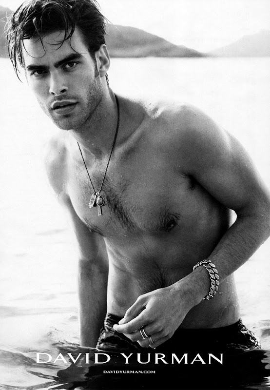 Jon Kortajarena by Peter Lindbergh for David Yurman, S/S 2011