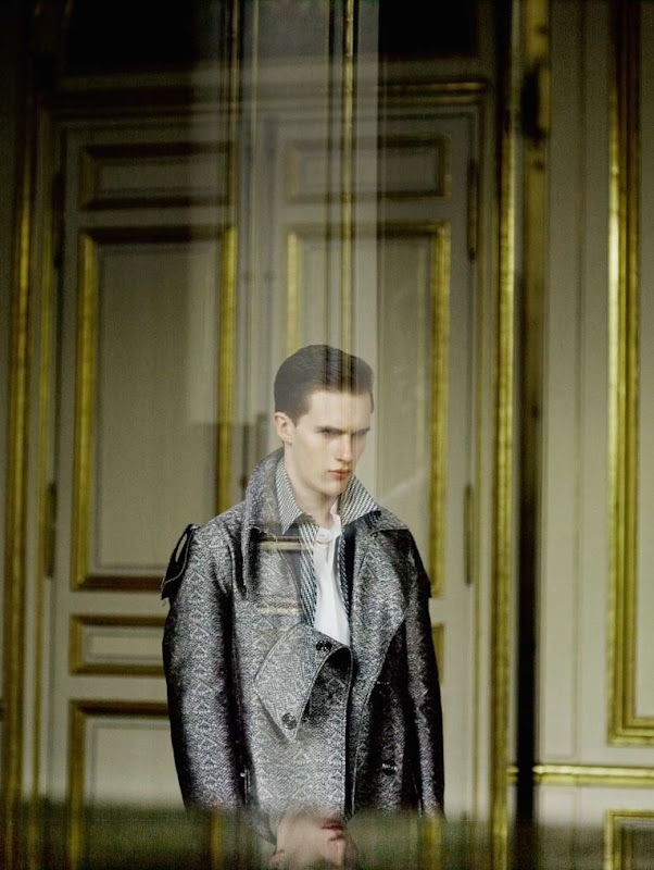 Luka Badnjar by Serge Leblon for Le Monde M, 2011