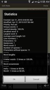 Classic Notes Lite - Notepad - screenshot thumbnail