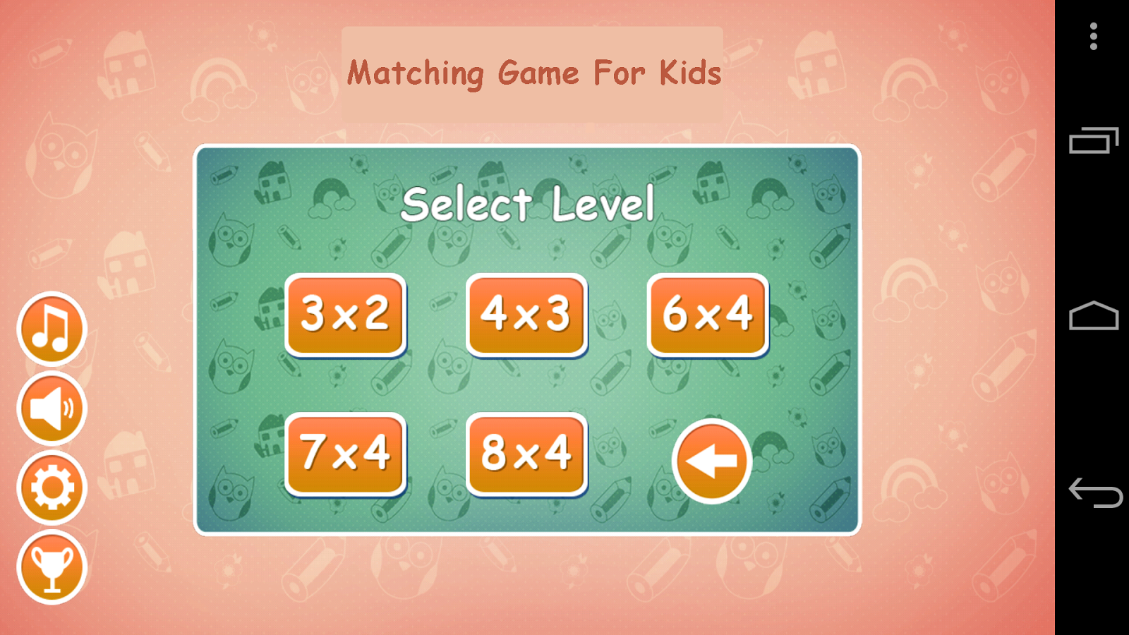 Matching Game for Kids - Android Apps on Google Play