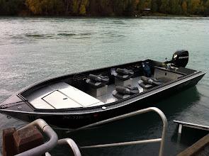 Photo: Nigel Fox's new power trout.