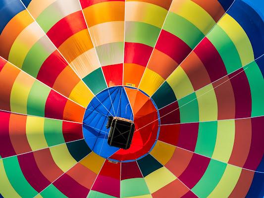Mongolfiere Colorata di Fabio Busignani