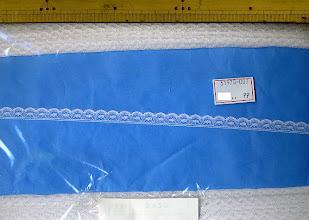 Photo: №31970-007ラッセル白:巾10mm (在庫無:600mから取り寄) №31970-307オフ