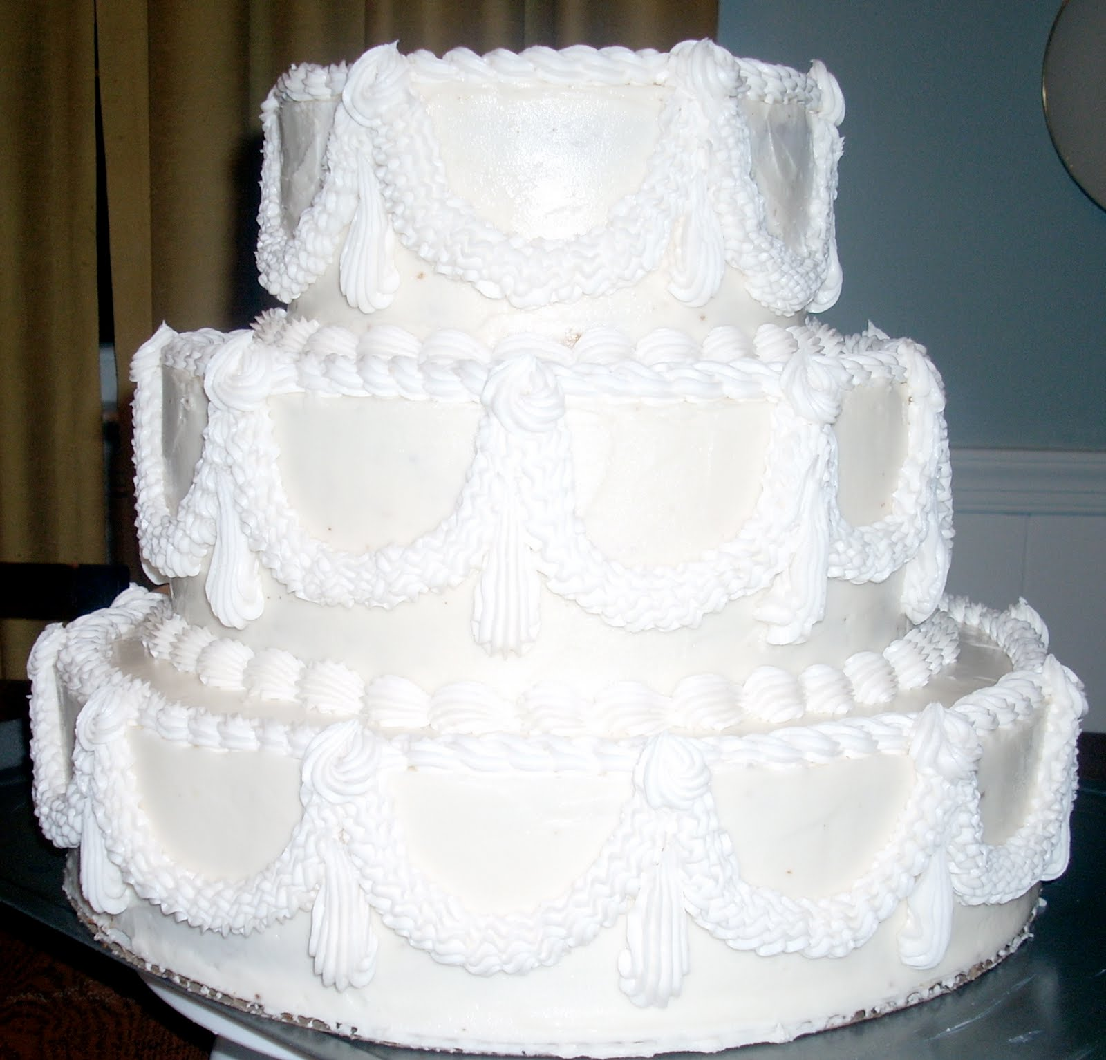 Anna-Marie\'s blog: 50th Wedding Anniversary Cake