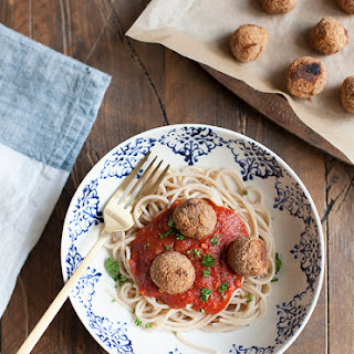 Spaghetti and White Bean Balls (Gluten Free)