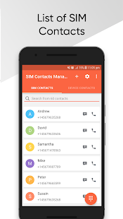 App SIM Contacts Manager APK for Windows Phone