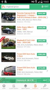 Motors.co.uk car search- screenshot thumbnail