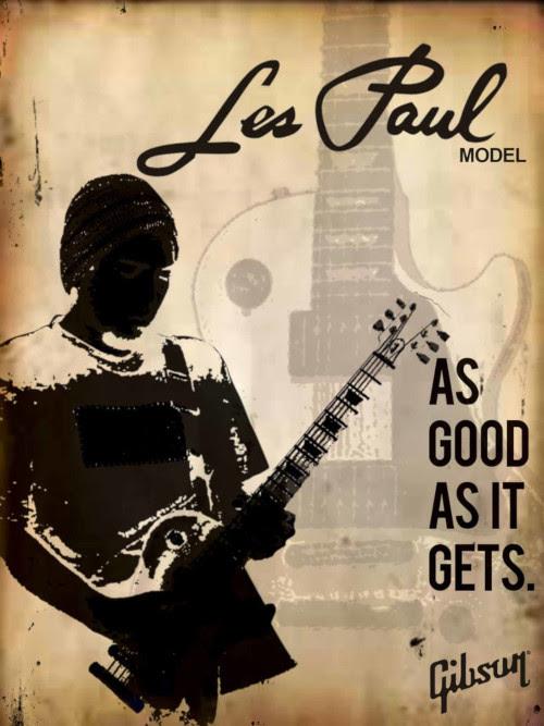 Gibson Les Paul mainos