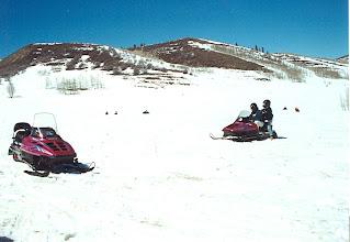 Photo: Snowmobile Gymkhana, Utah