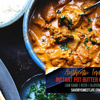 Instant Pot Butter Chicken.