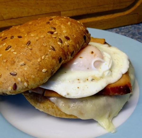 Ham And Swiss Egg Sandwiches Recipe