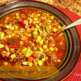 Hamburger Soup Chicken Broth Recipes.