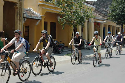 Biking in Hoi an