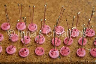 Eccentric coils (quilling)