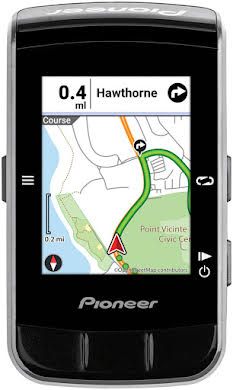 Pioneer CA600 Color GPS Navigation Cycle-Computer alternate image 4