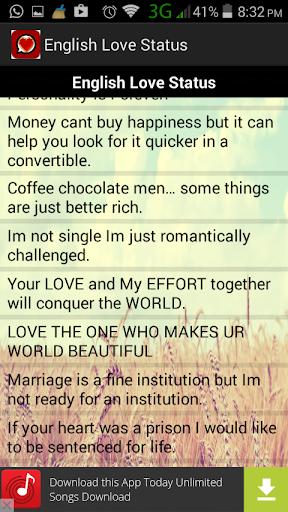 Love Status In Whatsapp