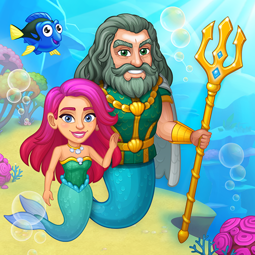 Aquarium Farm: fish town, Mermaid love story shark