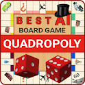 Quadropoly - Best AI Property Trading Board Game icon