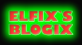 Elfix Blog. Web design.