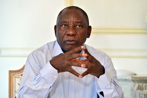 President Cyril Ramaphosa was speaking at a meeting with black business leaders at the Union Buildings.