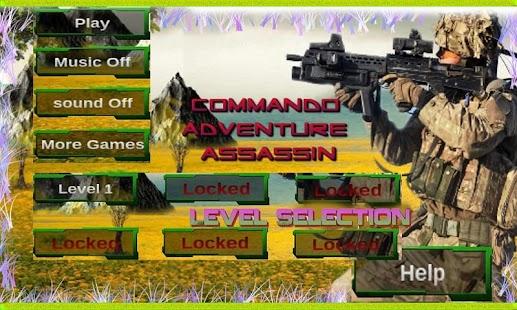 Commando Adventure Assassin- screenshot thumbnail