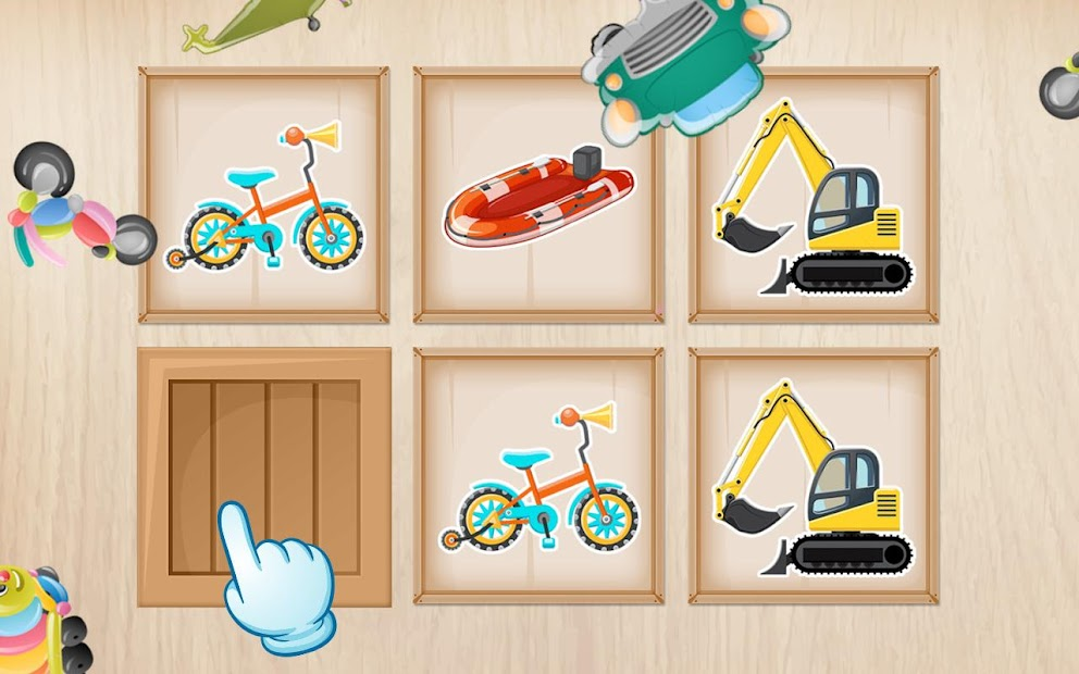 Cars & Vehicles Puzzle for Kids  screenshot 3